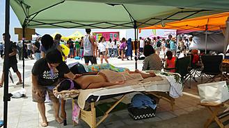 今夏のイベントの様子。 Line-up cup  TAHARAおいでんガールズカップ 天気に恵まれ最高に気持ち良かったです!